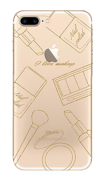 iPhone8 Plusのケース、シックコスメパーティー【スマホケース】
