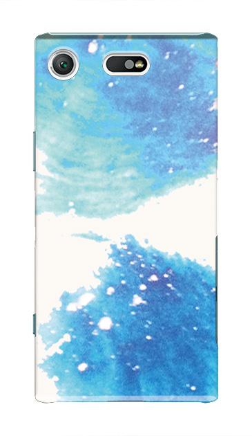 Xperia XZ1 Compactのケース、ツインペイント【スマホケース】