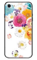 iPhone7対応のハードケース・ツヤ有り、フラワーシャワー