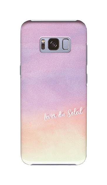 Galaxy S8のケース、ニジム水彩ツイン【スマホケース】