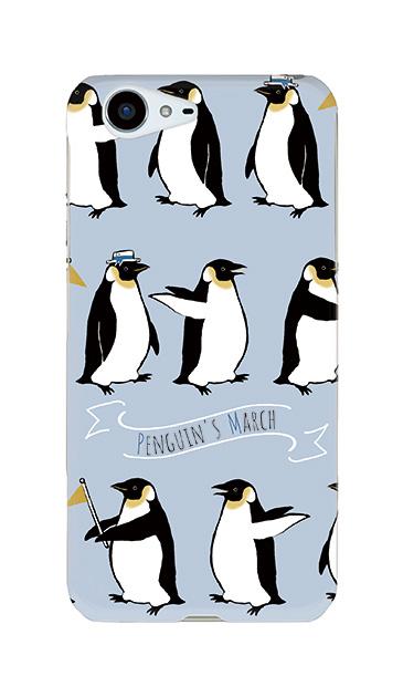 AQUOS ZETAのケース、キュートペンギンマーチ