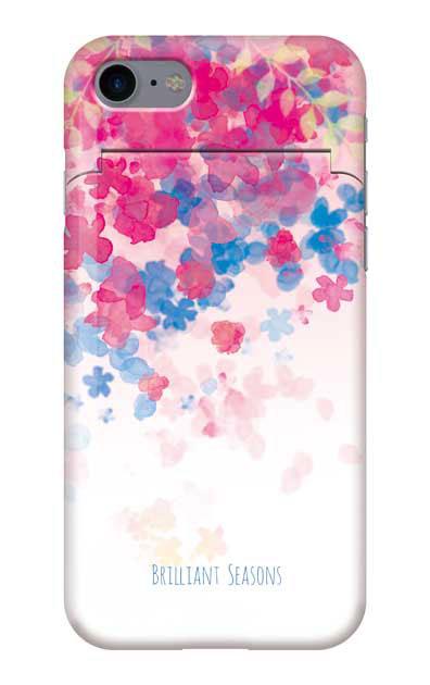 iPhone7のケース、ブリリアントフラワー【スマホケース】