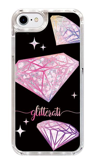 iPhone6のグリッターケース、ダイヤモンドグリッター【スマホケース】
