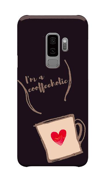 Galaxy S9+のケース、コーヒーホリック【スマホケース】