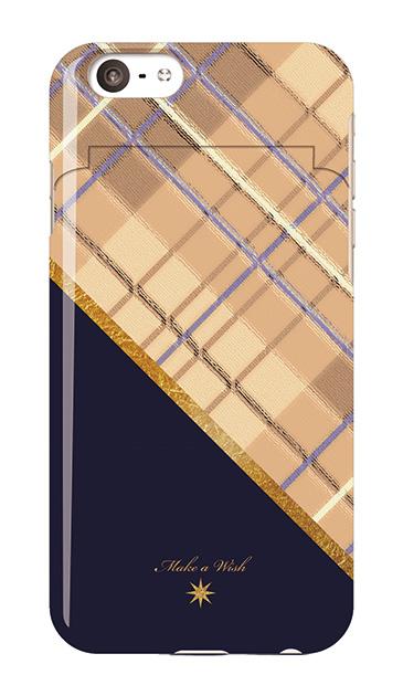 iPhone6sのミラー付きケース、ツインスラッシュチェック【スマホケース】