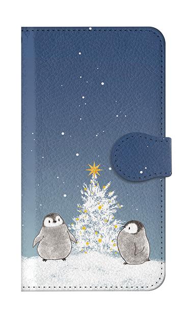 Galaxy S10のケース、静かなペンギンの夜【スマホケース】