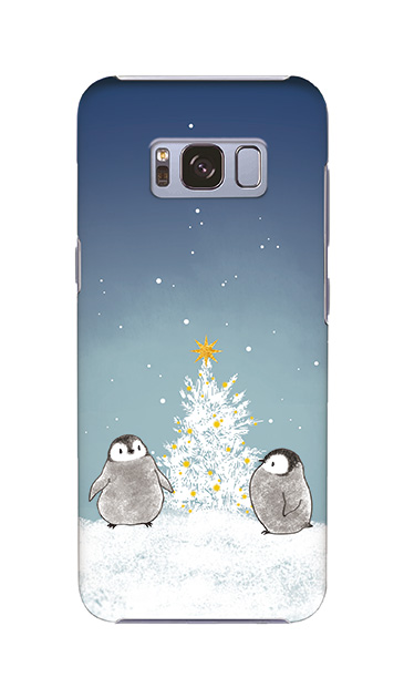 Galaxy S8のケース、静かなペンギンの夜【スマホケース】