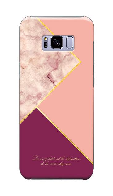Galaxy S8+のケース、ブロッキングカラーパレット【スマホケース】