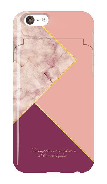 iPhone6sのミラー付きケース、ブロッキングカラーパレット【スマホケース】