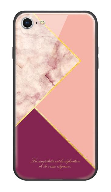 iPhone7のケース、ブロッキングカラーパレット【スマホケース】