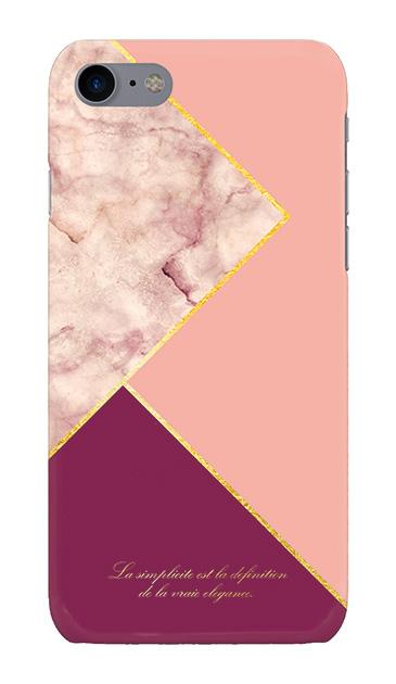 iPhone8のケース、ブロッキングカラーパレット【スマホケース】