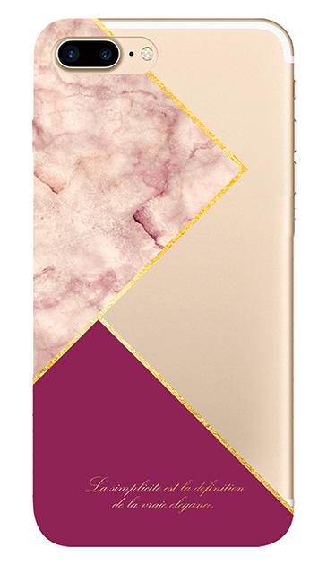 iPhone8 Plusのケース、ブロッキングカラーパレット【スマホケース】