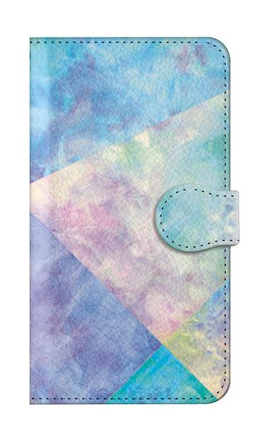 iPhone8の手帳型ケース、朝焼けパステルパレット【スマホケース】