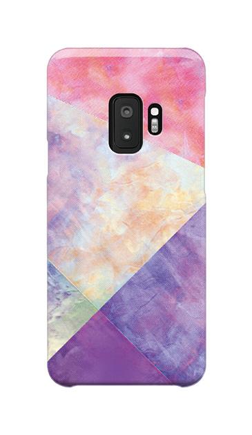 Galaxy S9のケース、朝焼けパステルパレット【スマホケース】