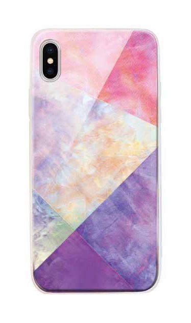iPhoneXS Maxのケース、朝焼けパステルパレット【スマホケース】
