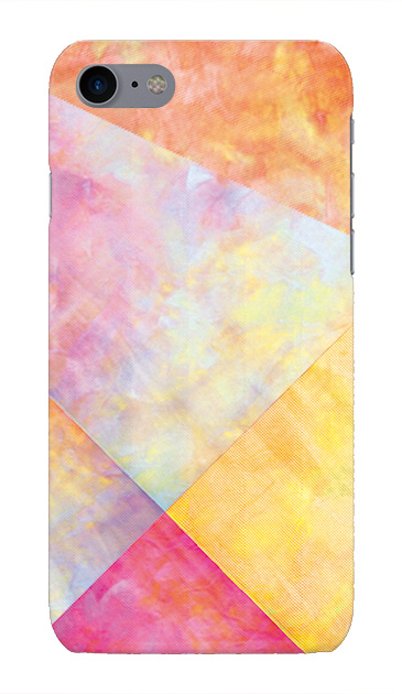 iPhone7のケース、朝焼けパステルパレット