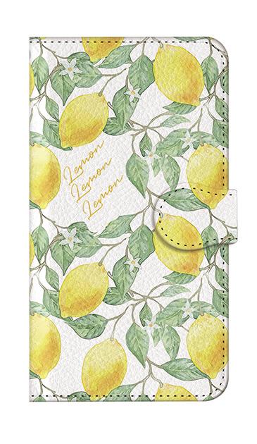 iPhoneSEのケース、アートなレモン