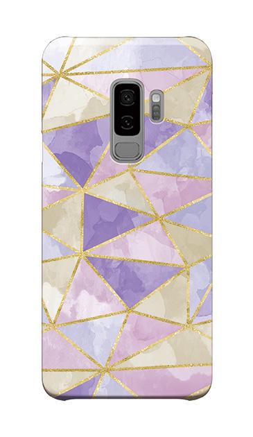 Galaxy S9+のケース、ラメラインパレット