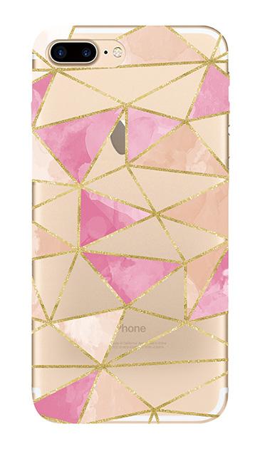 iPhone8 Plusのケース、ラメラインパレット【スマホケース】