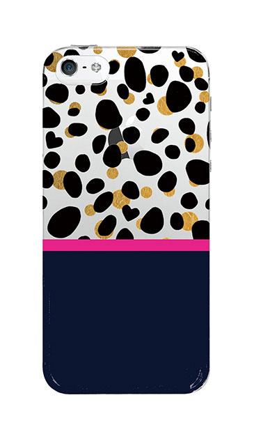 iPhoneSEのケース、ツインダルメシアンライン【スマホケース】