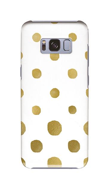 Galaxy S8のケース、コロコロドット【スマホケース】