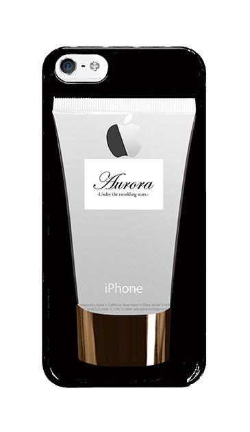 iPhone5Sのクリア(透明)ケース、コスメチューブ【スマホケース】