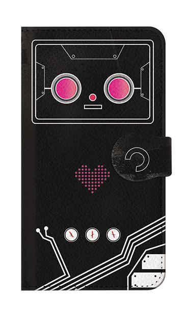iPhone7のケース、ハートロボット【スマホケース】