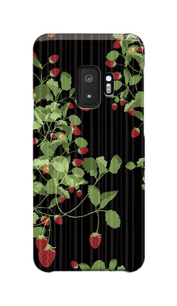 Galaxy S9のケース、ラブストロベリー【スマホケース】