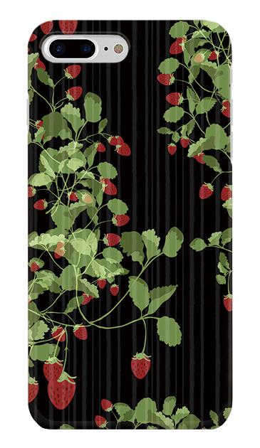 iPhone8 Plusのケース、ラブストロベリー【スマホケース】