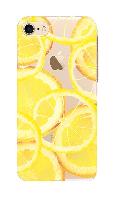 iPhone7のケース、レモン【スマホケース】