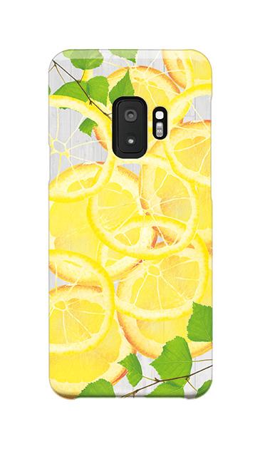 Galaxy S9のケース、レモン【スマホケース】
