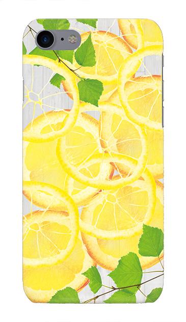iPhone8のケース、レモン【スマホケース】