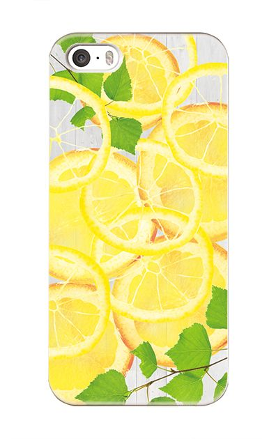 iPhoneSEのケース、レモン【スマホケース】