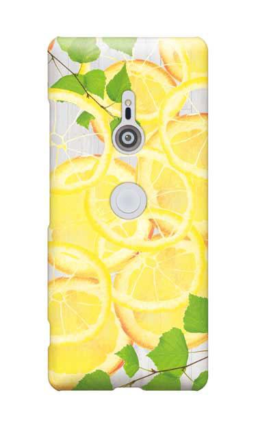 Xperia XZ3のケース、レモン【スマホケース】