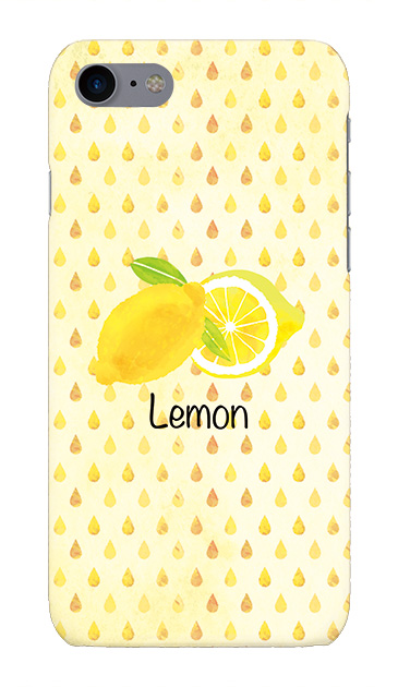 iPhone7のケース、lemon【スマホケース】