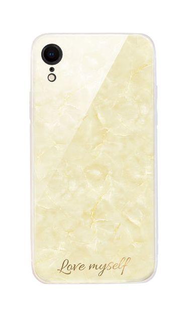 iPhoneXRのケース、エレガント大理石【スマホケース】