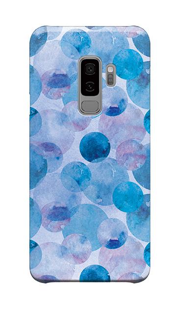 Galaxy S9+のケース、水彩シャボン【スマホケース】