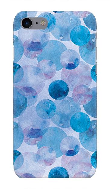 iPhone7のハードケース、水彩シャボン【スマホケース】