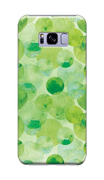 Galaxy S8+のケース、水彩シャボン【スマホケース】