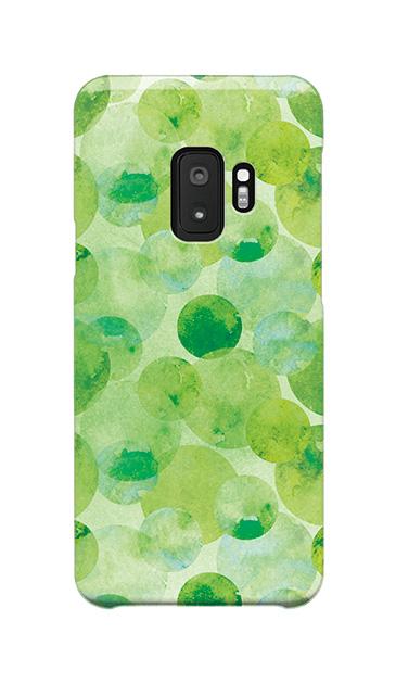 Galaxy S9のケース、水彩シャボン【スマホケース】