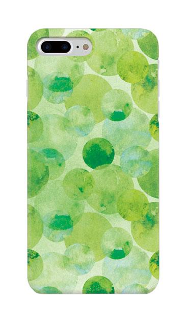 iPhone7 Plusのケース、水彩シャボン【スマホケース】
