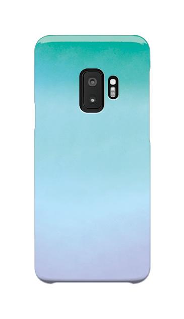 Galaxy S9のケース、水彩グラデーション【スマホケース】