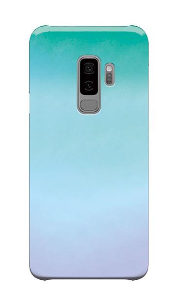 Galaxy S9+のケース、水彩グラデーション【スマホケース】