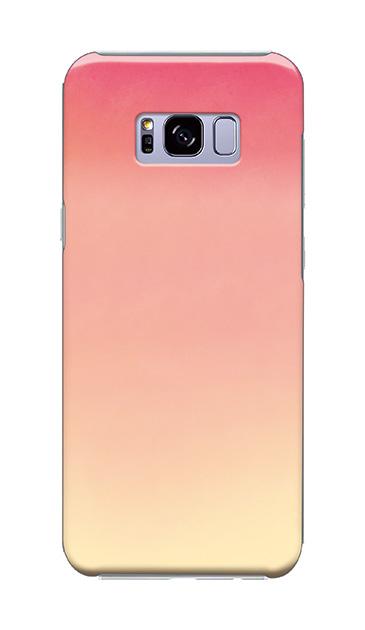Galaxy S8+のケース、水彩グラデーション【スマホケース】