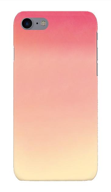 iPhone7のハードケース、水彩グラデーション【スマホケース】