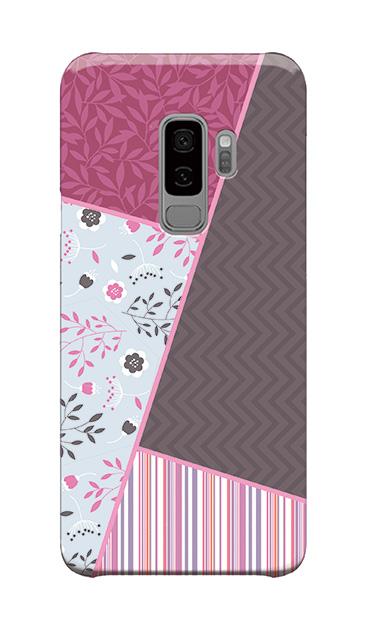 Galaxy S9+のケース、北欧パレット【スマホケース】