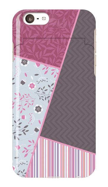 iPhone6sのミラー付きケース、北欧パレット【スマホケース】