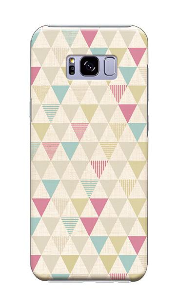 Galaxy S8+のケース、三角パレット【スマホケース】