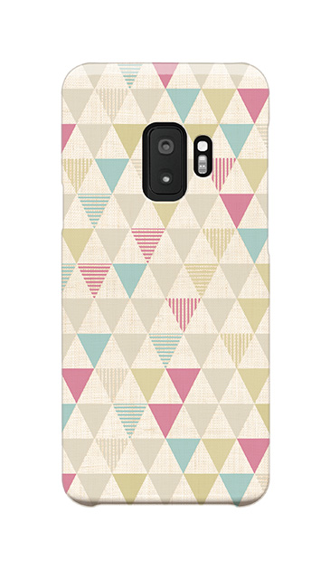 Galaxy S9のケース、三角パレット【スマホケース】