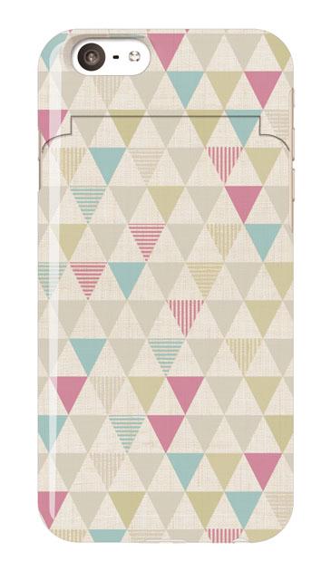 iPhone6sのミラー付きケース、三角パレット【スマホケース】
